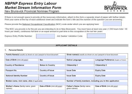 Info Form NBPNP