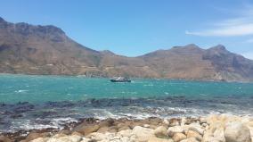 Fishing boat at Hout Bay
