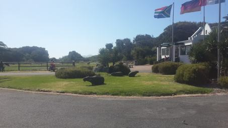 Front Entrance of ostrich farm