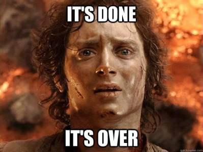 Finally Done