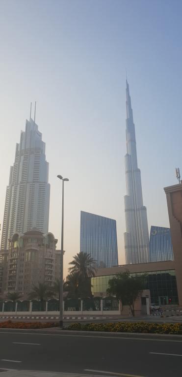 The Address & Burj Khalifa